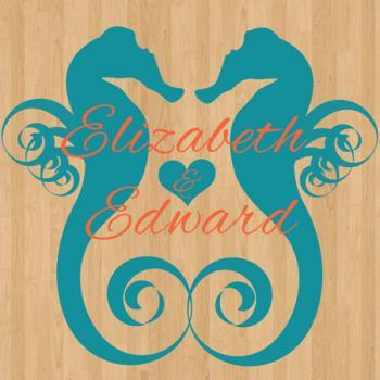 Wedding Dance Floor Decals By The Sea